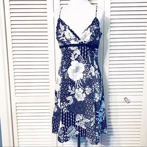City Triangle 🌺Black & White Floral Summer Dress